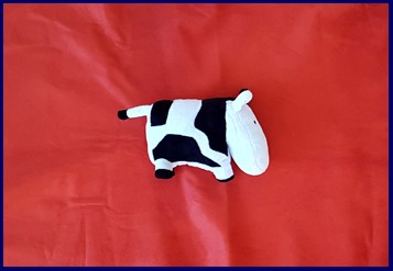 toy cow leather terms and labelling