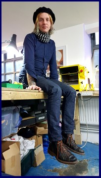 Thomas Rowe the parachute collective shoe making courses