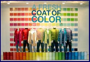 pop up shop colour attraction block