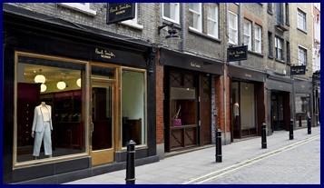 Paul Smith Floral St London