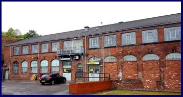 Goral shoe factory building exterior Sheffield UK