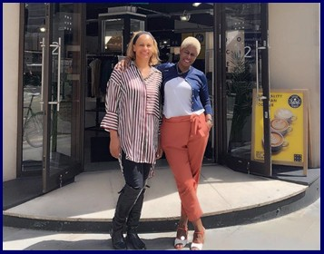 Agnes and Shola Sante + Wade