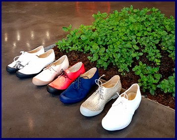 Basil plant Tracey Neuls experiential shoe retail