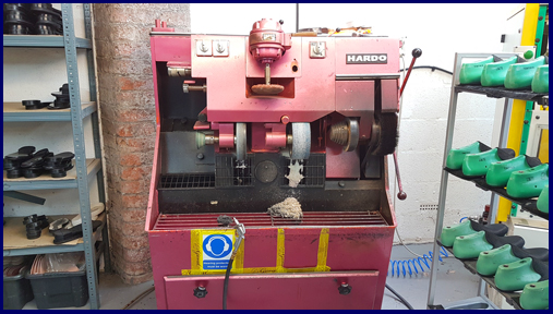 how to find a shoe factory pink sanding buffing machine