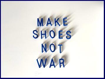 Make shoes not war the shoe community shoe founders club