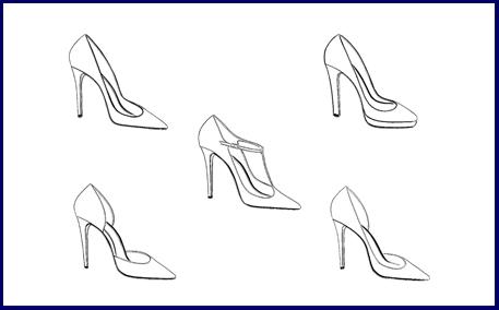 choose your shoe range