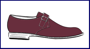 monk shoe cordovan